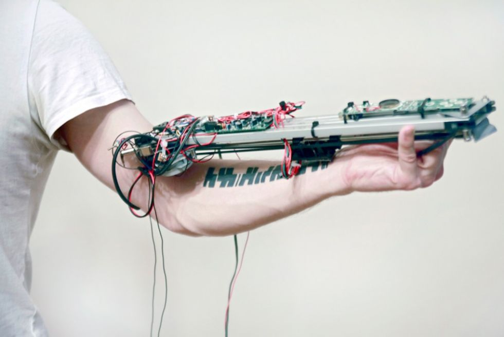 Turn Yourself Into A Musical Instrument With Electronic Tattoos