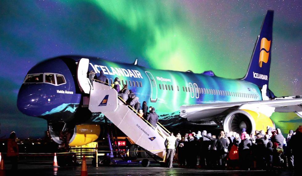 Icelandair to Offer Onboard Aurora Borealis