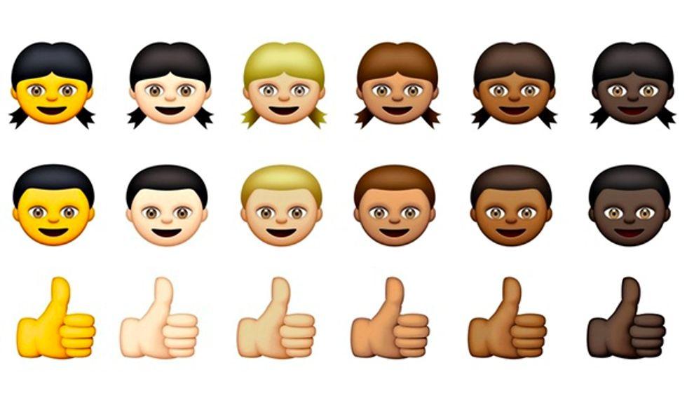 Racially Diverse Emojis Are Coming Soon