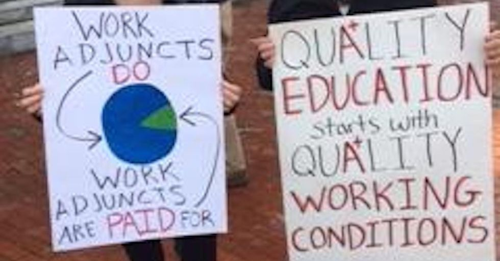 Your Adjunct Professors Are Taking a Day to Fight for Their Rights