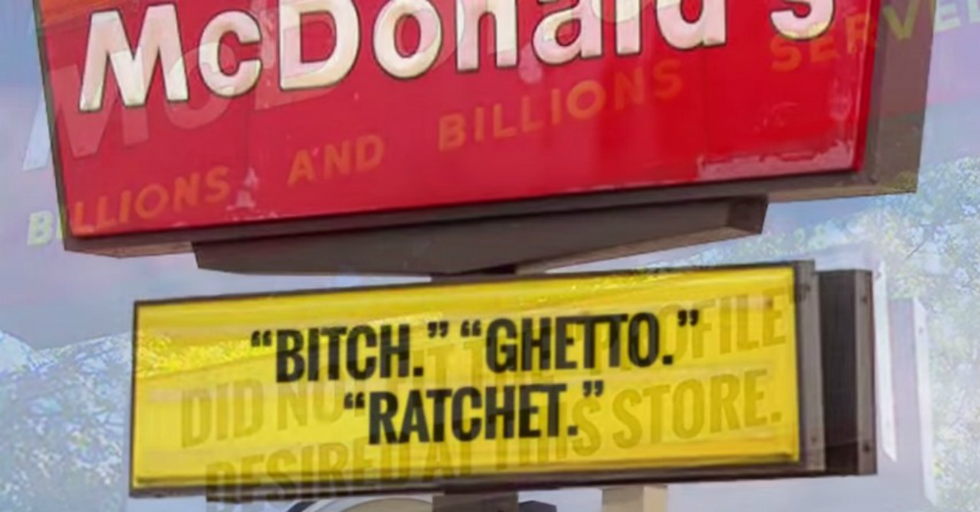 McDonald's Under Attack For How They're Dealing With Store Owners Accused Of Racism