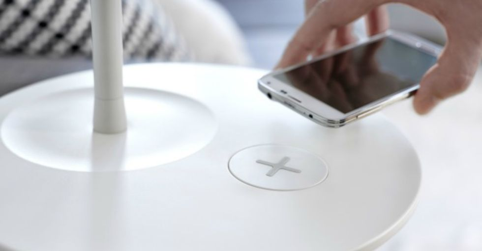 Ikea's New Furniture Will Wirelessly Charge Your Phone
