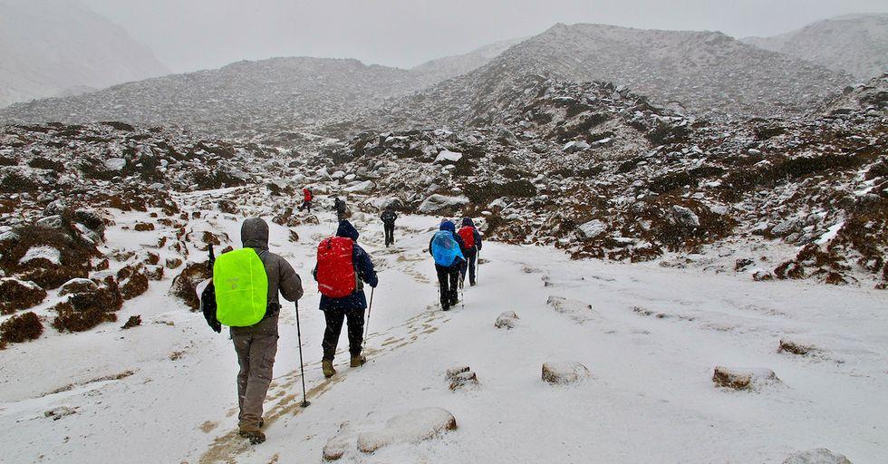 Human Poop is Ruining Mount Everest