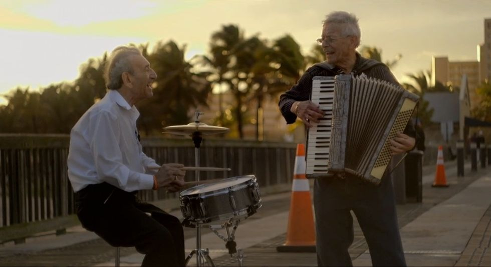 """These Two Incredible Octogenarians Just Formed The """"Holocaust Survivor Band"""""""