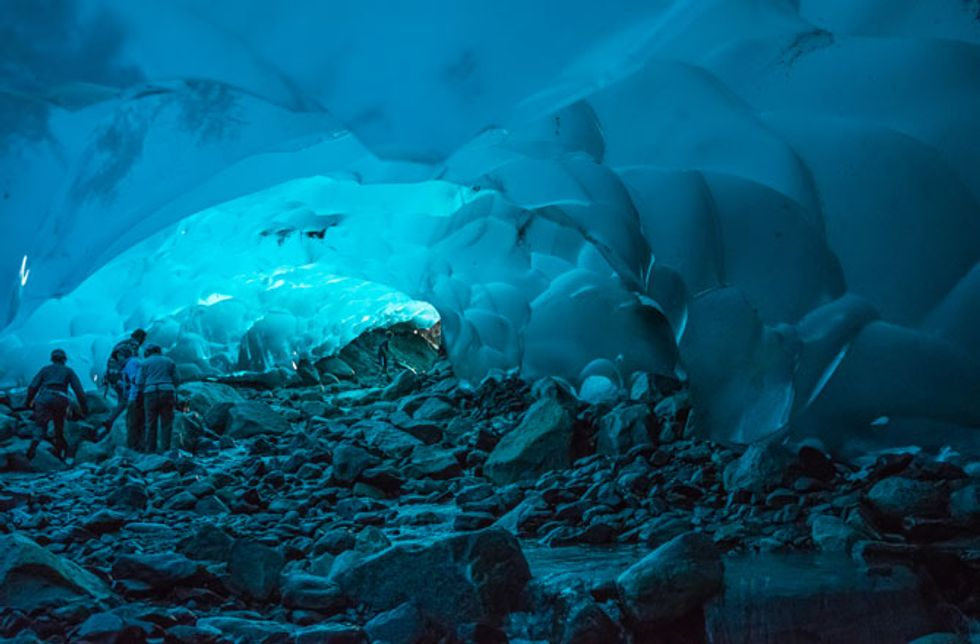 This Magical Alaskan Ice Cave Captured on Video Last Year No Longer Exists