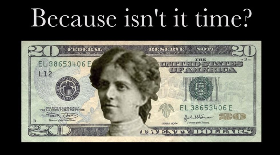 This Campaign Wants a Woman On the $20 Bill and They Want You to Choose Who It Will Be