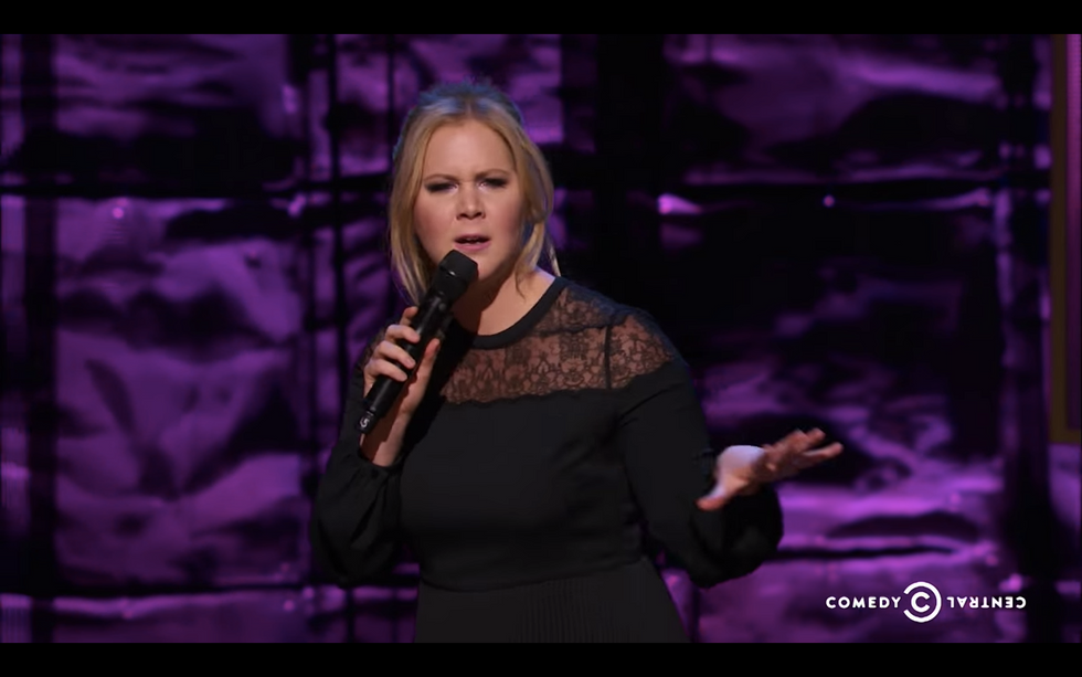 Amy Schumer Speaks Up Against Hollywood's Insane Body Standards