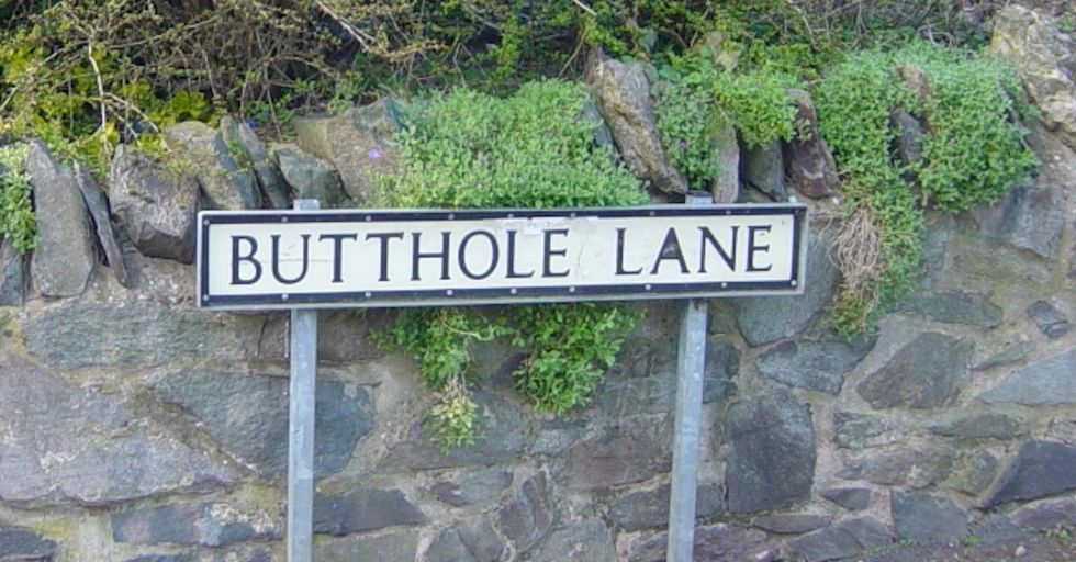 Leave Our Butthole Alone, Says English Town