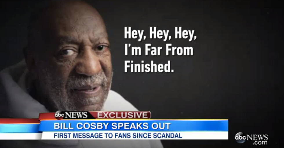 """Bill Cosby's Video Message: """"I'm Far From Finished"""""""
