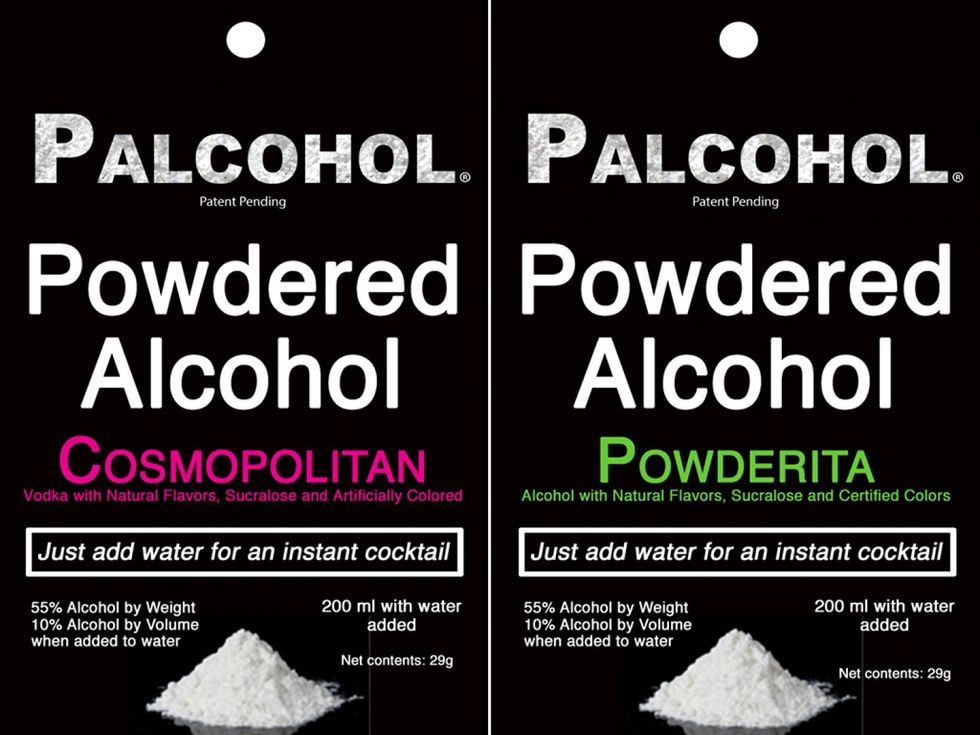 Powdered Alcohol is Legal Again