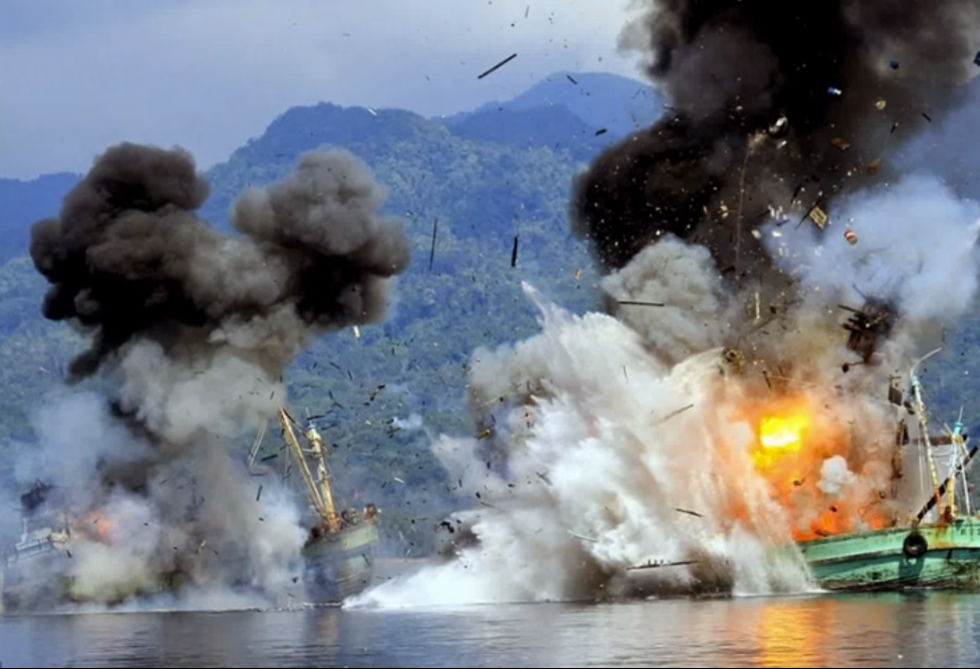Indonesia's Dynamite Deterrent to Fish Poaching