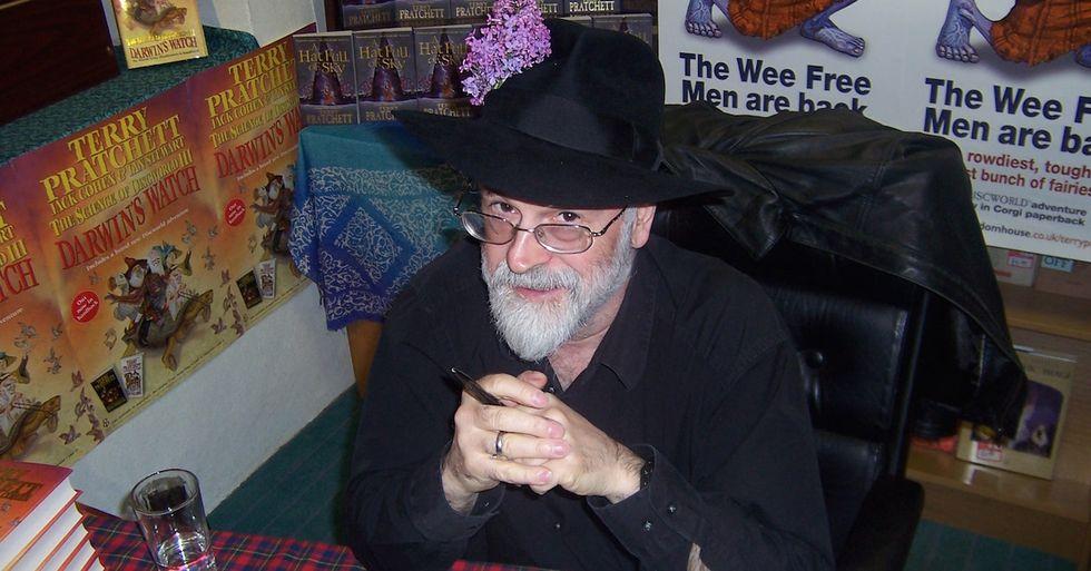 Bidding Farewell to Terry Pratchett