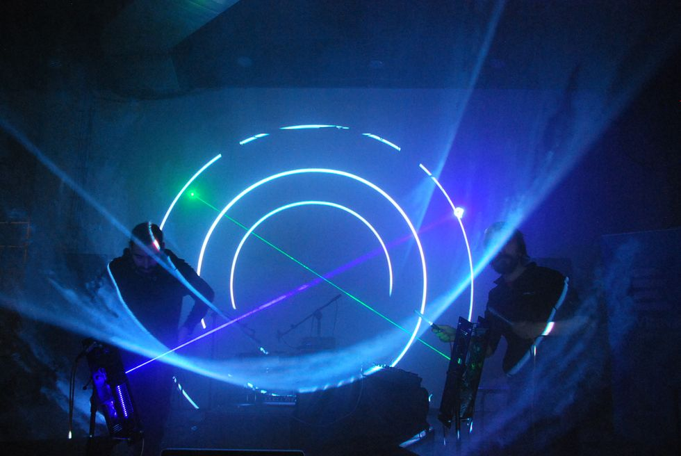 Are Non-Tacky Light Shows the Future of Electronic Music?