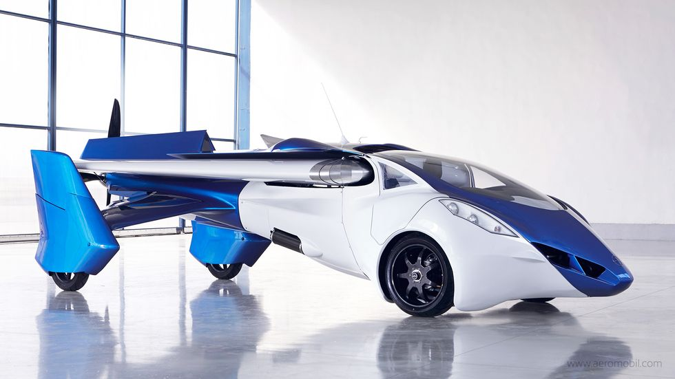 You Could Be Piloting a Flying Car by 2017