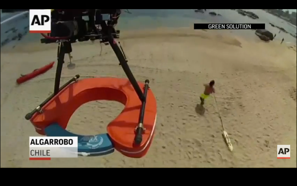 This Chilean Lifeguard Drone Is Seven Times Faster Than A Human Lifeguard