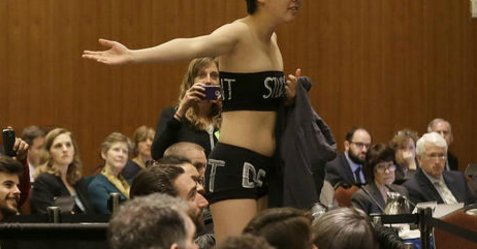 Hot Mic Captures UC President's Real Feelings On Student Protesters