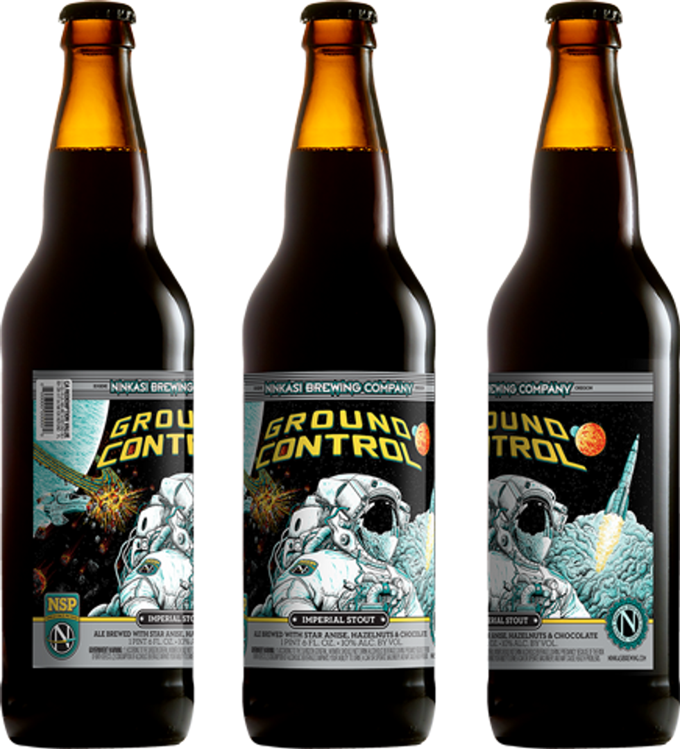 """Craft Brewery Launches Yeast Into Space and Creates """"Ground Control"""" Beer"""
