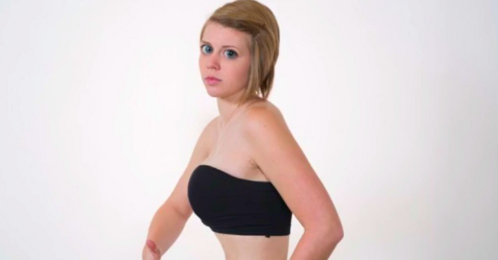 Woman Mutates Her Body In Real Time To Make A Point About Body Image