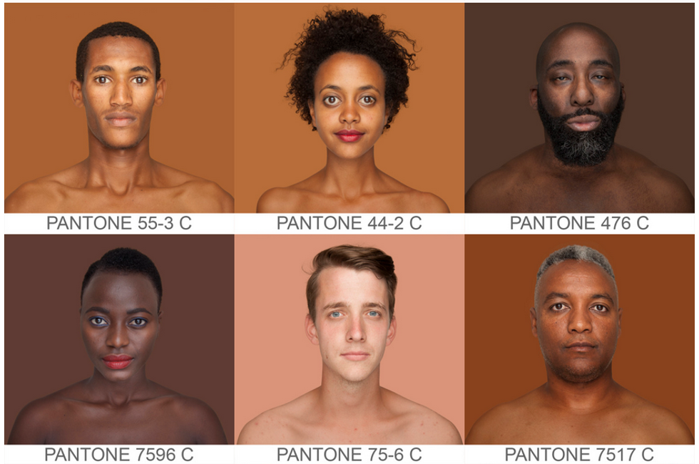 Brazilian Photographer Attempts To Catalog All Possible Human Skin Tones