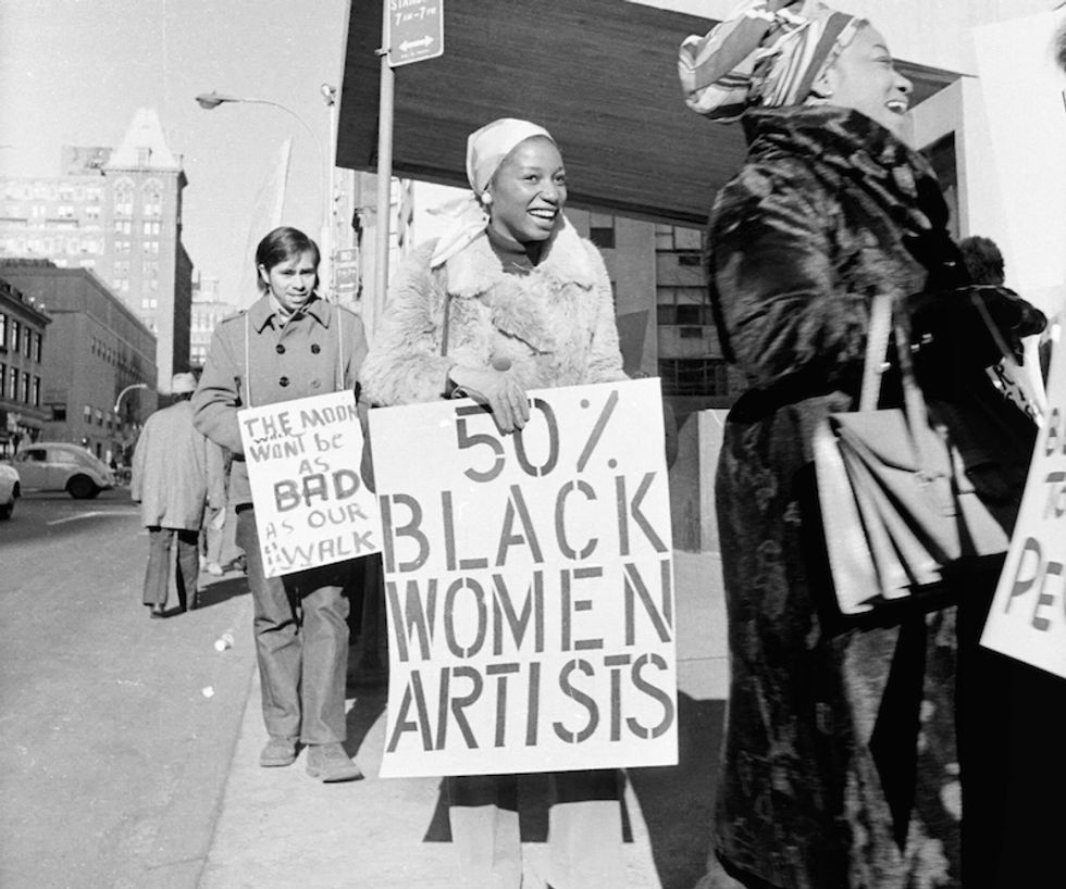 A Must-See Exhibit Honors Black Women's Resistance Art