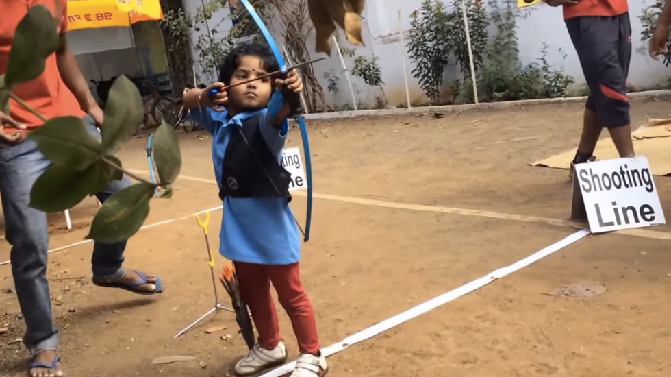 India is Home to a Two-Year-Old Katniss Everdeen