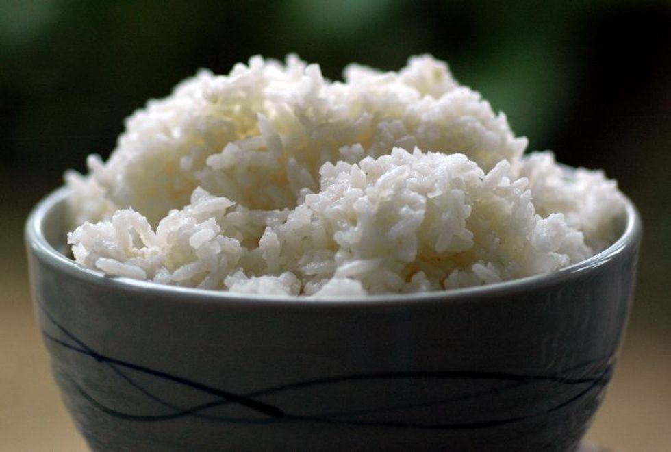Slashing Calories From Rice (Without Downsizing Your Portions)