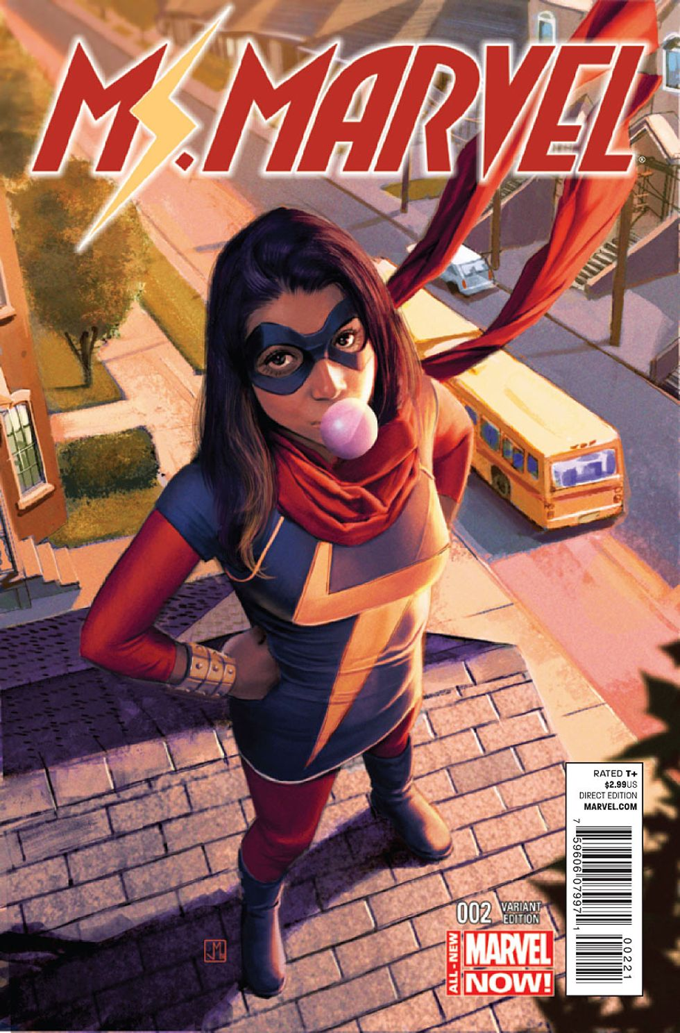 """The Artistic Education of Ms. Marvel's """"Mighty Muslim""""Co-Creator"""