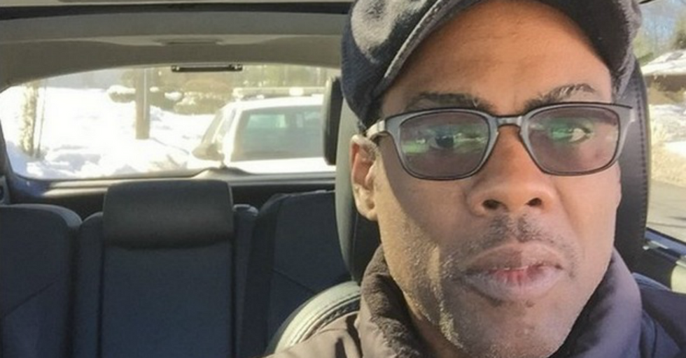 Chris Rock Is Fighting Police Harassment By Taking A Selfie Every Time He's Pulled Over