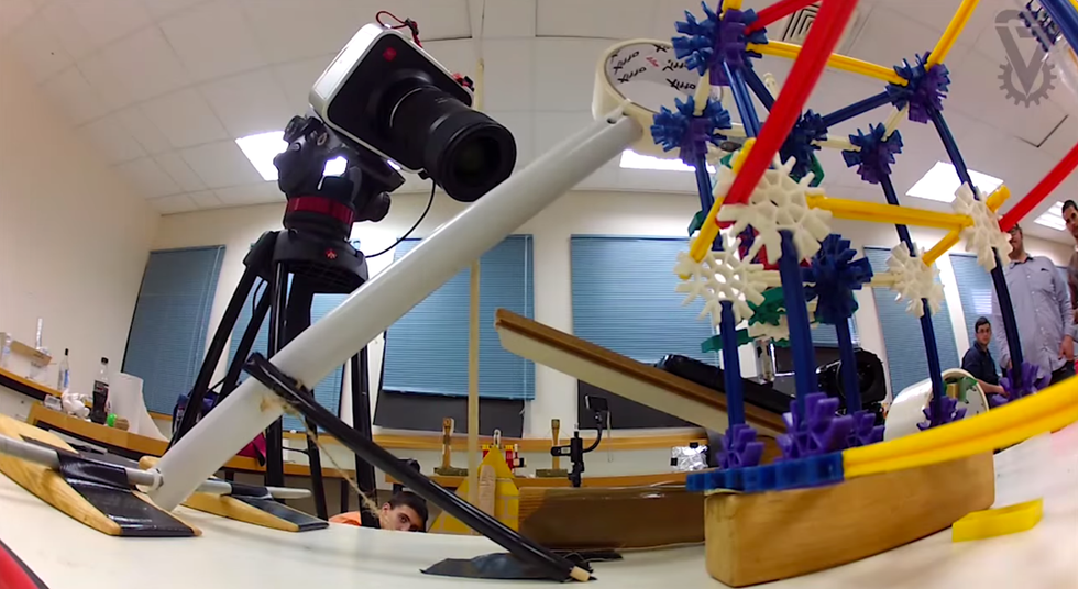 The Story Of Passover As Told By This Insane Rube Goldberg Machine