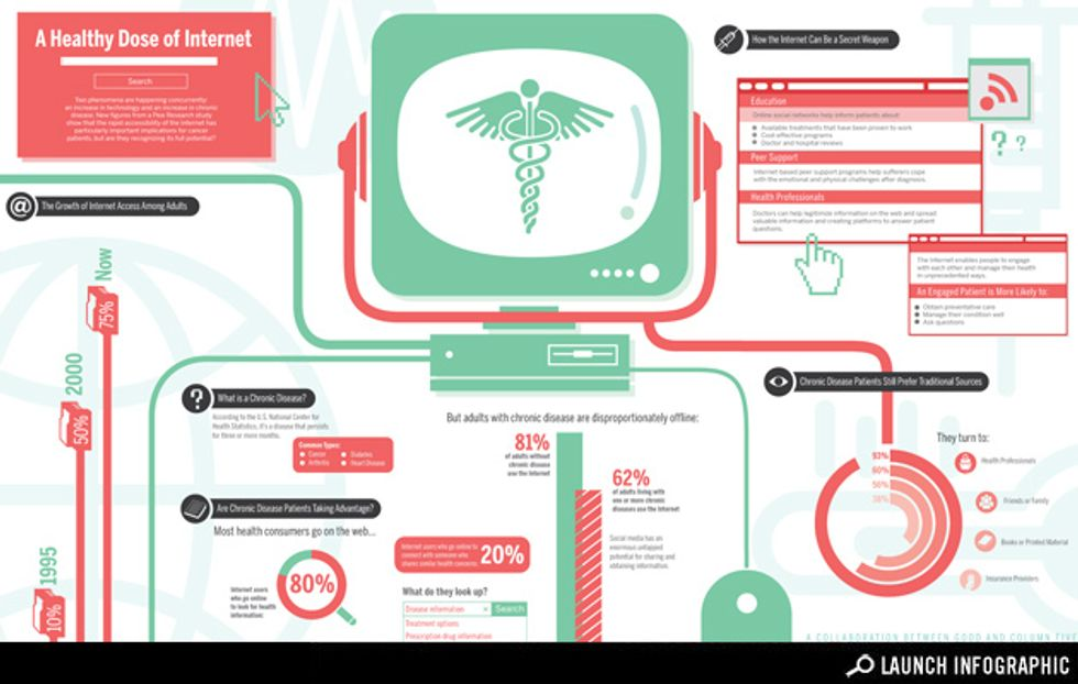 Transparency: How the Internet Can Help Chronic Disease Sufferers Chronic Disease and the Internet
