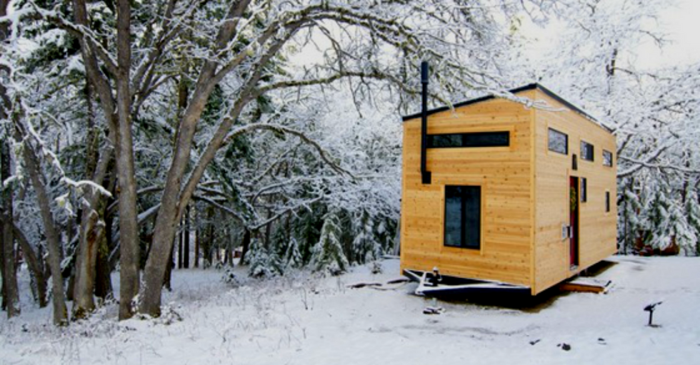Couple's Dream House Is Tiny And Perfect. Oh, And Only $22,000.