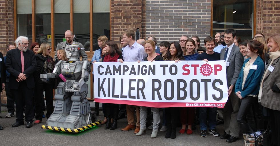 Human Rights Watch Wants to Stop Killer Robots