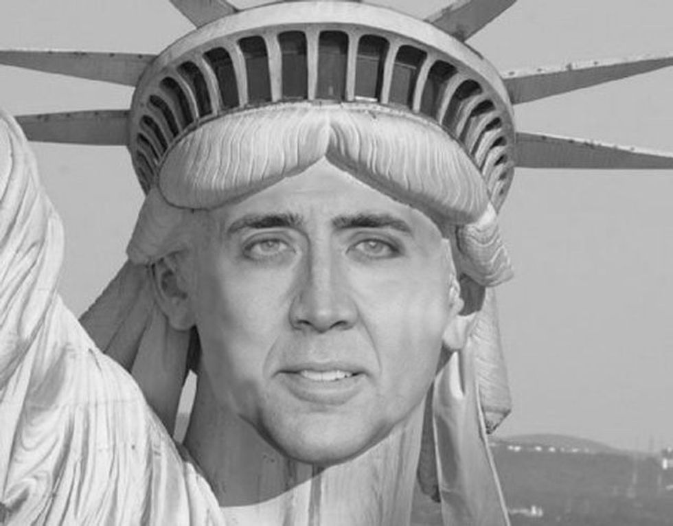 Giant Nicolas Cage Head Could Terrorize Canada This Labor Day