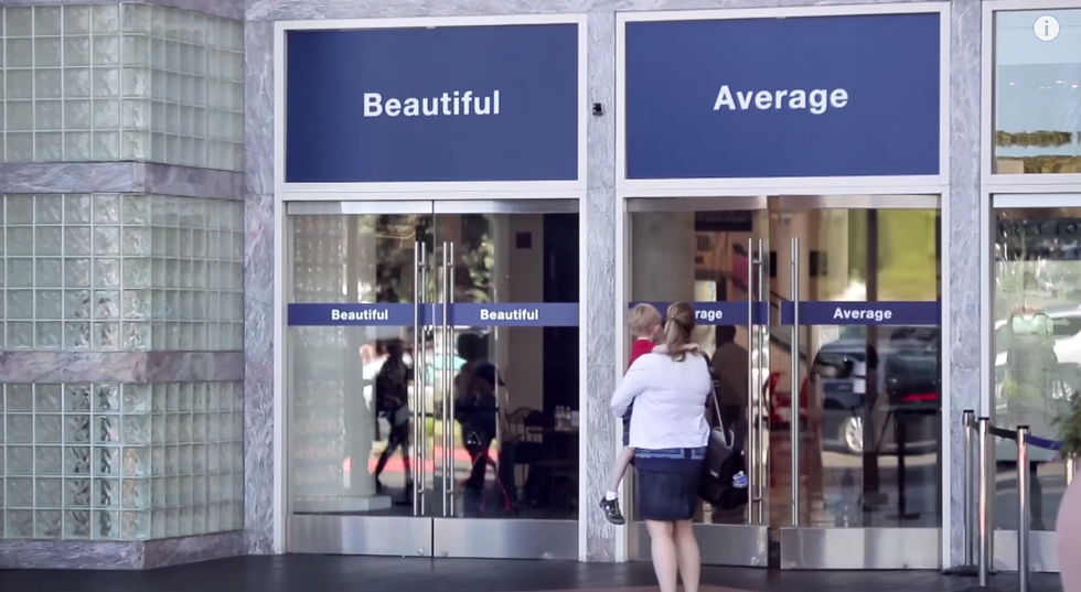 """Dove Asks Women To Choose Between """"Beautiful"""" And """"Average"""""""