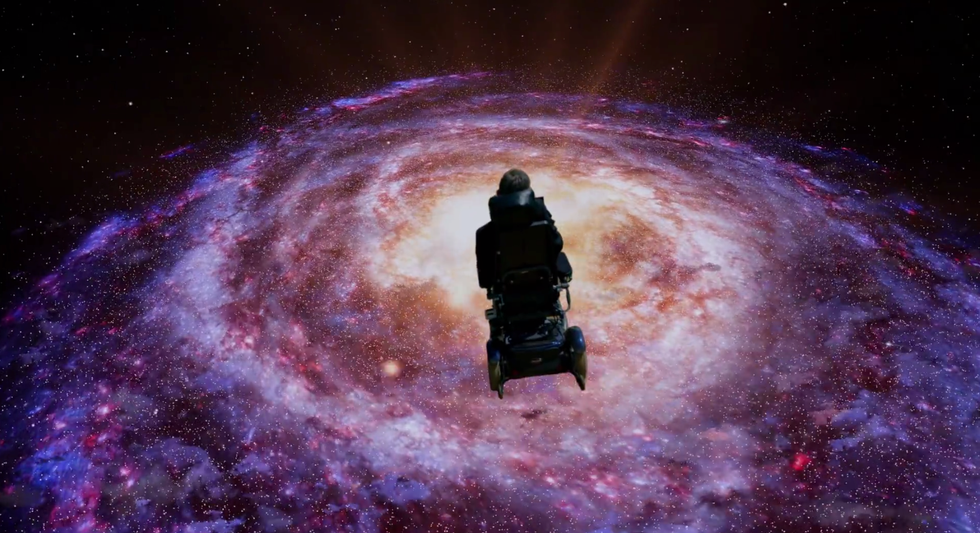 """Yes, This Really Is Stephen Hawking Singing Monty Python's""""Galaxy Song"""""""