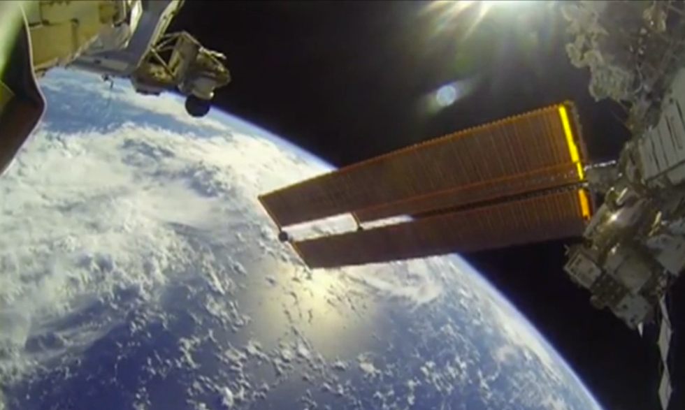 NASA Releases Astronauts' Awe-Inspiring GoPro Footage (UPDATED)