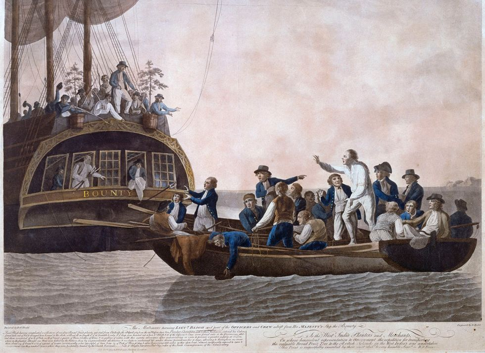 Descendants of HMS Bounty Mutineers Have Problems with Authority, Too