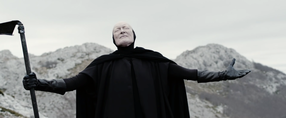 UNICEF's New Ad Stars A Singing, Dancing Grim Reaper