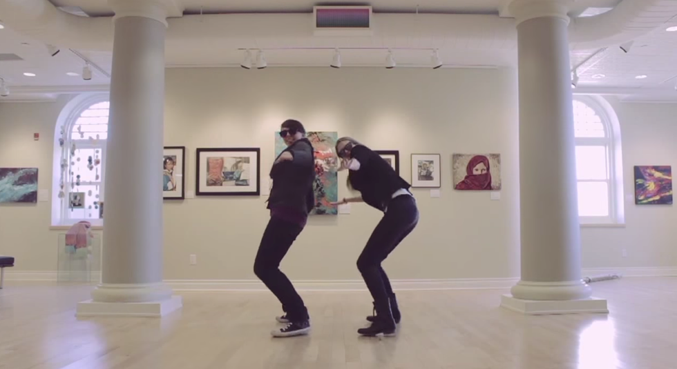"Vote To Decide Who Will Win The Great ""Museum Dance Off""?"