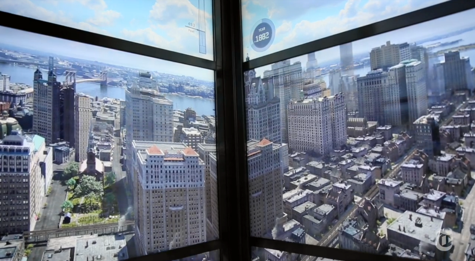 Experience Five Hundred (Virtual) Years Of New York City History In A Single Elevator Ride
