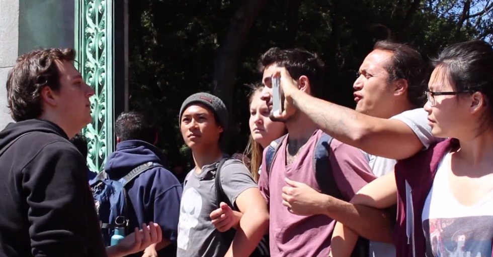 Are These Protesters at UC Berkeley Being Hypocrites?