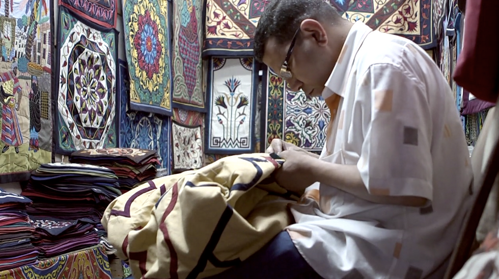 Meet the Men Who Stitch Cairo's Colorful Tents in This New Doc