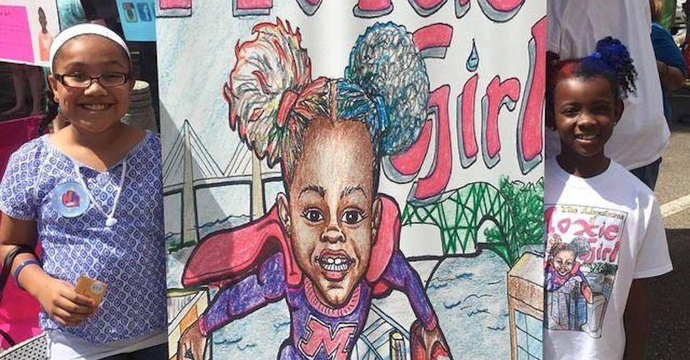 Seven-Year-Old's Comic About Magical Afro-Puff Superhero Wins $16K Award