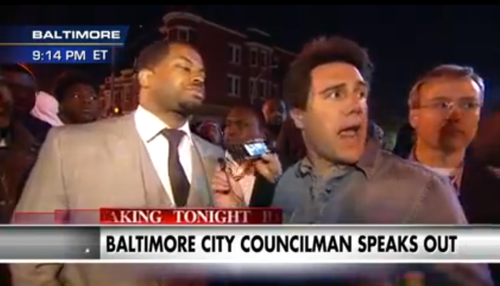 In the Battle of Media Narratives, Baltimore Councilmen Stand With Protestors