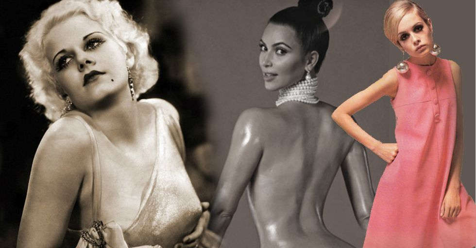What a 'Perfect' Woman's Body Was Supposed to Look Like Over the Past 100 Years