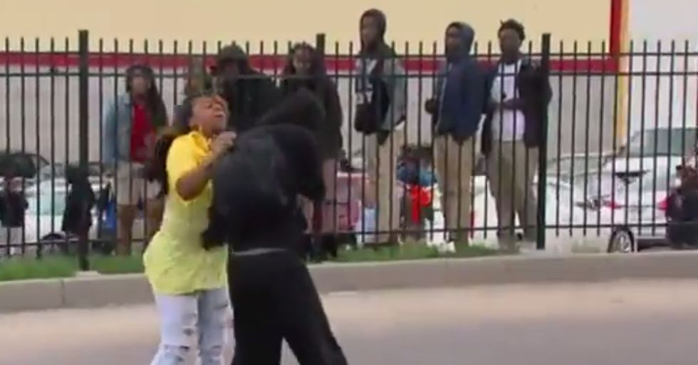 Mom Sees Her Son on TV Throwing Rocks During Protests, and Then...
