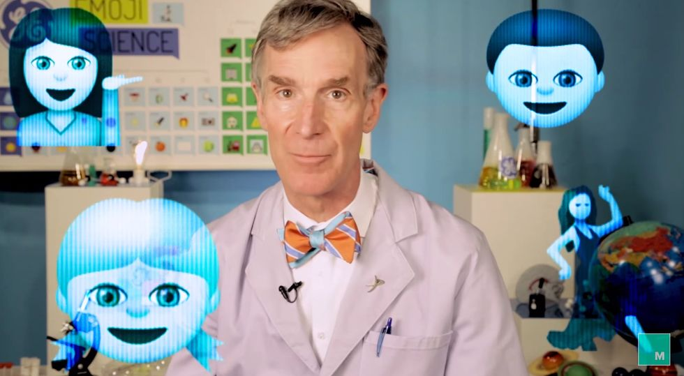 What Exactly is A Hologram? Let Bill Nye (And A Bunch Of Emoji) Explain