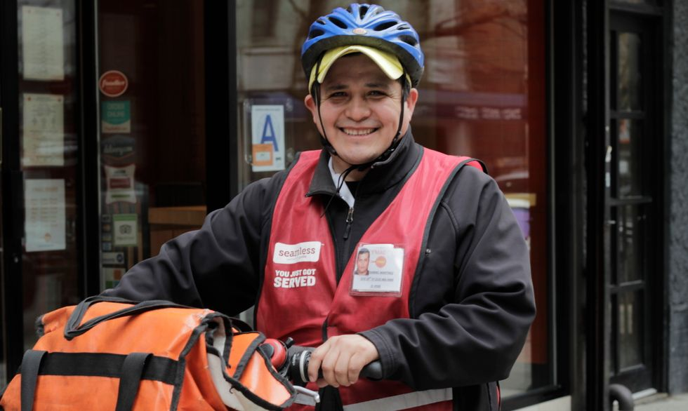 Ride a Bunch of Miles in This NYC Delivery Guy's Shoes