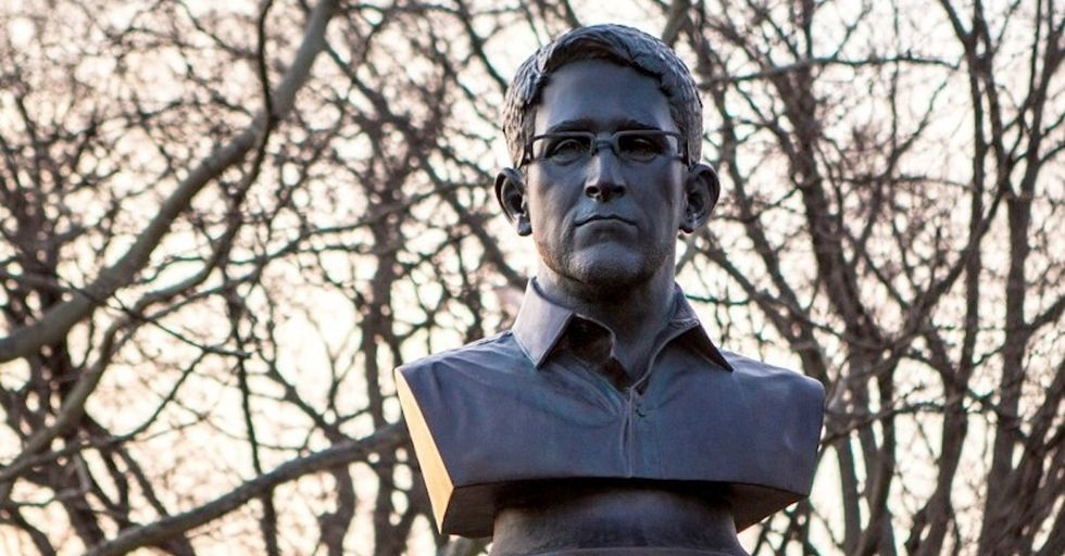 Famous Edward Snowden Statue, Released From NYPD Custody, Will Display at Brooklyn Gallery