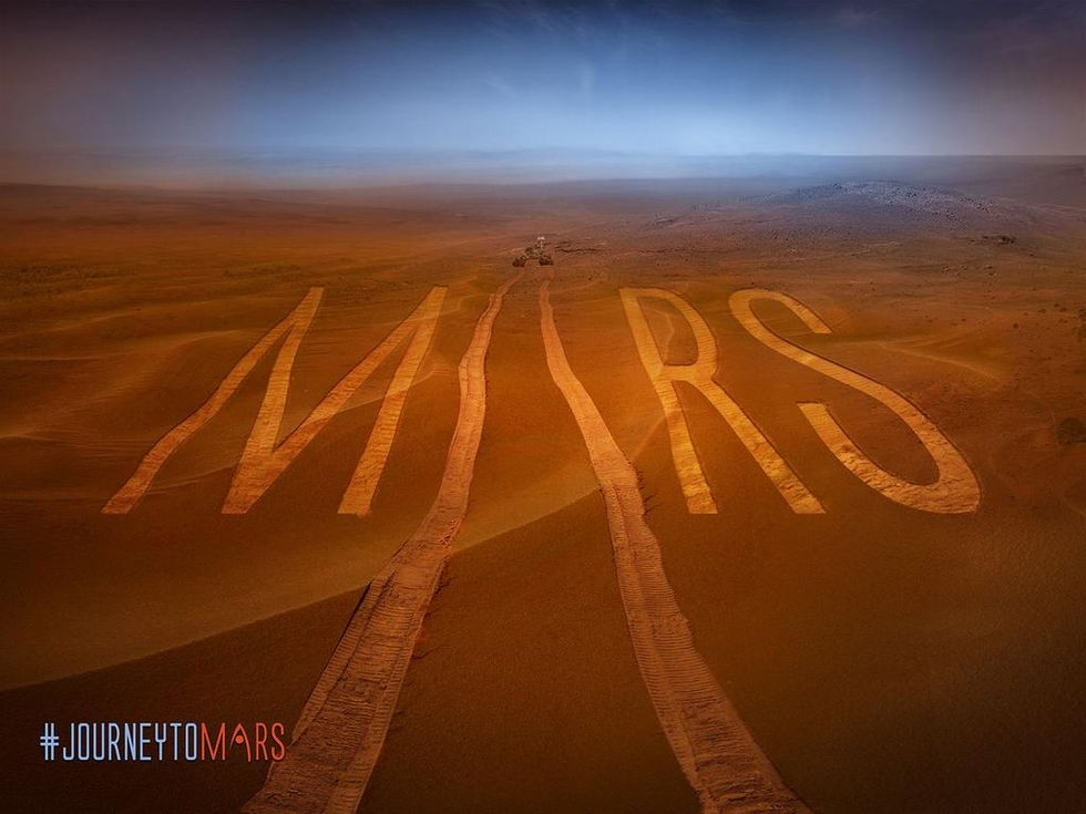 "NASA Crowdsources Martian Living With Their ""Journey to Mars Challenge"""